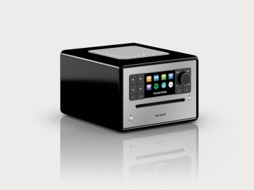 Sonoro Elite radio, streaming,cd €499,- nu voor € 399,- in Walnoot